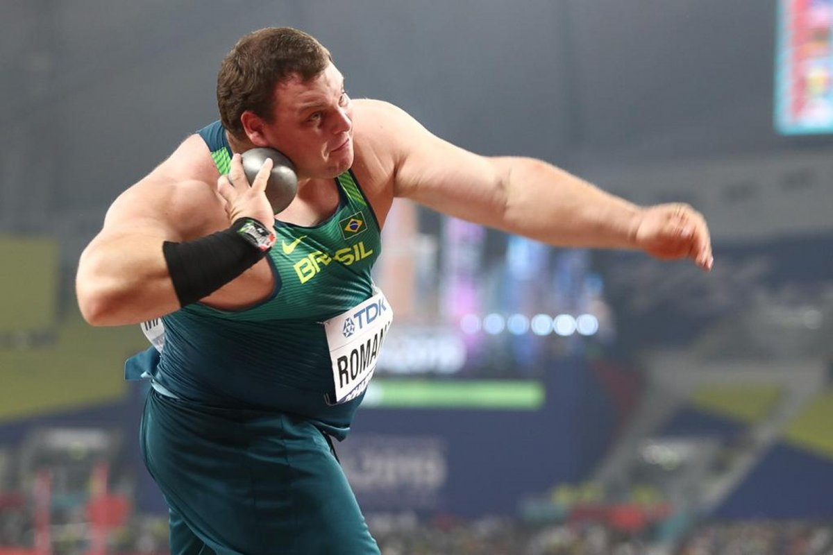 [Darlan Romani classifica Brasil para final do Mundial de Atletismo]